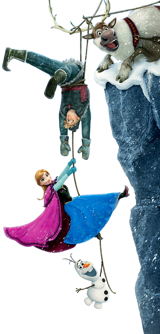 Anna kristoff olaf and sven frozen photo 35635412 - Frozen anna and olaf ...