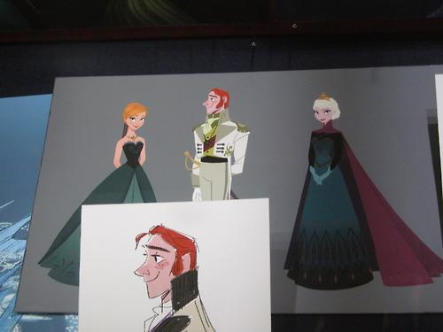 アナと雪の女王 壁紙 probably with a サーコート, サーコット entitled Anna and Elsa Concept Art