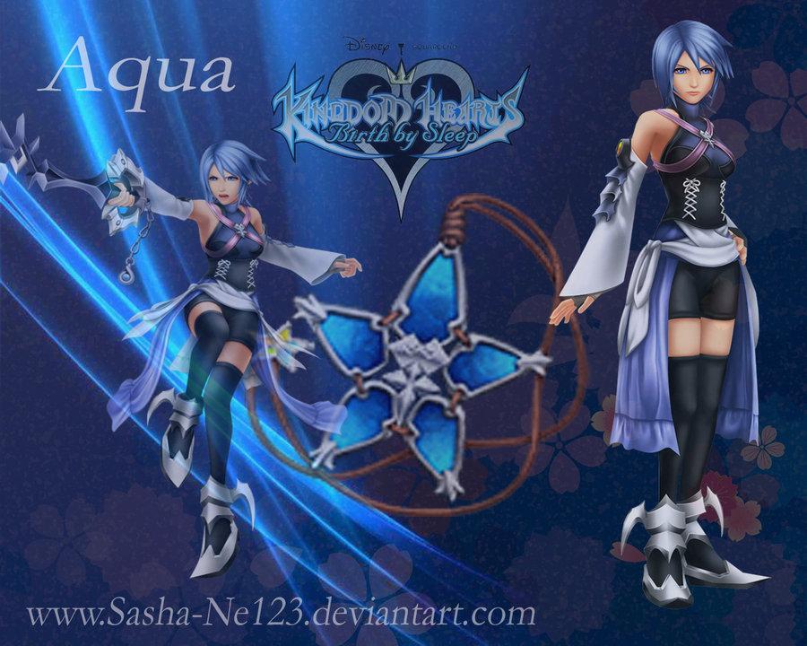 Kingdom Hearts Aqua Wallpaper Aqua 3 - kingdom-hearts-aqua