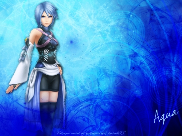 Kingdom Hearts: Aqua images Aqua!