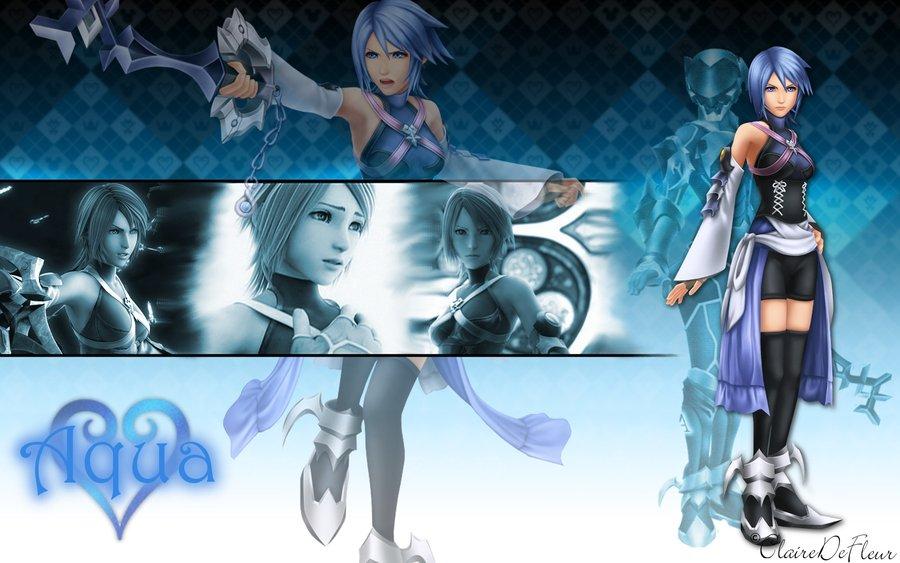 Kingdom Hearts Aqua Wallpaper Kingdom Hearts: Aqua i...