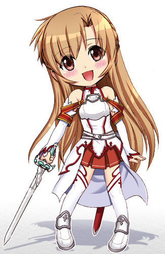 Sword Art Online wallpaper containing anime called Asuna