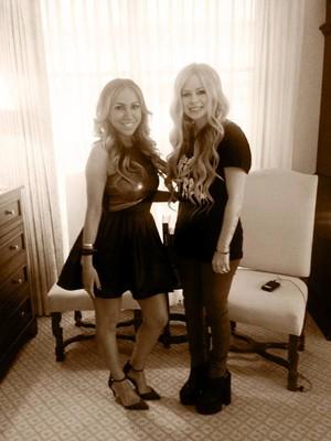 Avril Lavigne & Diana Madison