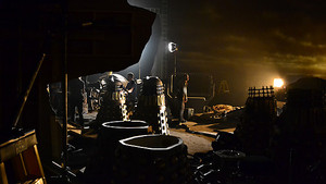 Behind the Scenes look at the Daleks!
