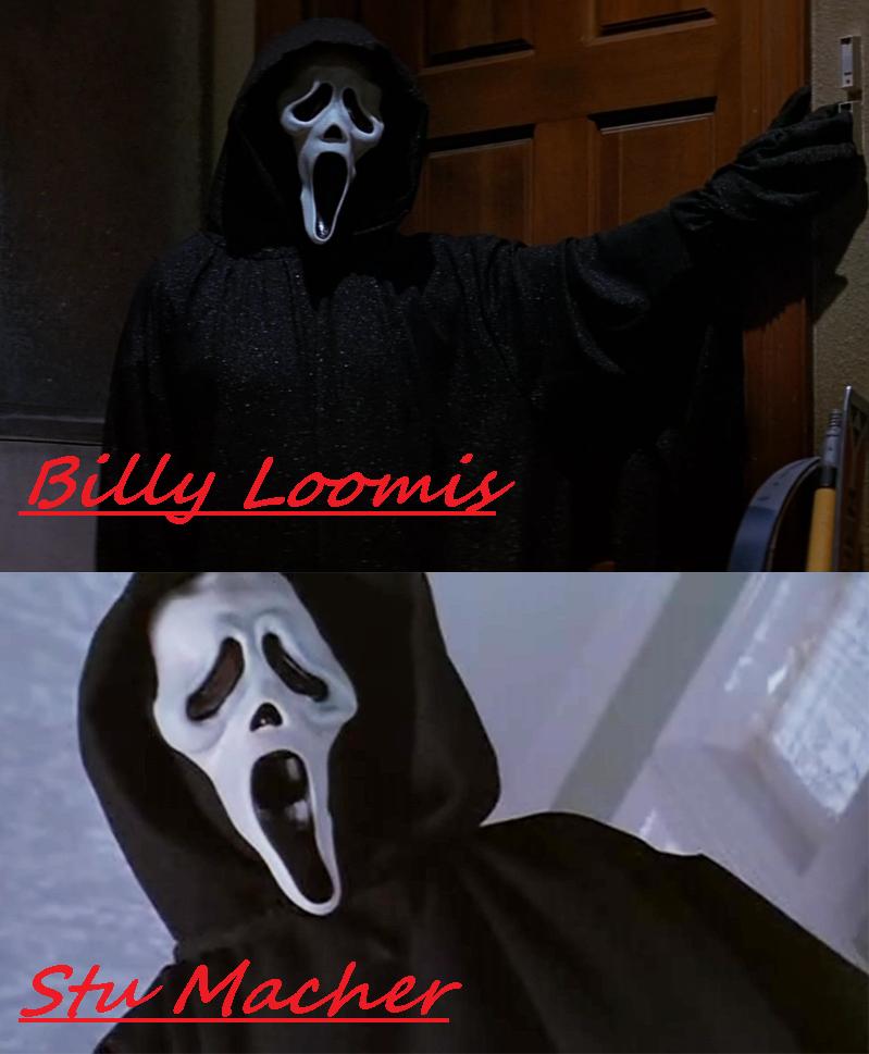 Billy amp stu as ghostface scream photo 35692984 fanpop