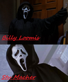 Billy & Stu as ghostface - scream photo