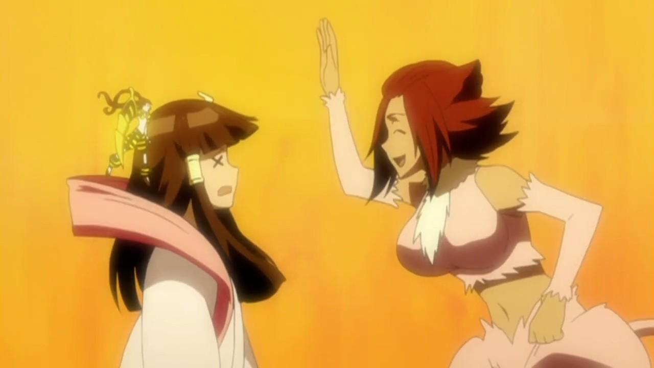 Bleach ep 262-Haineko and Narunosuke's love story <33...