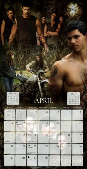 Calendario Twilight