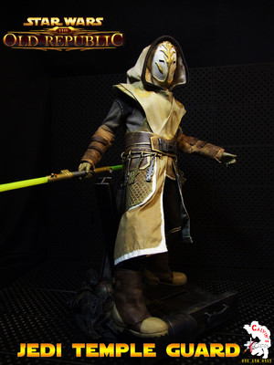 Calvin's Custom One Sixth Starwars the old republic JEDI TEMPLE GUARD figure