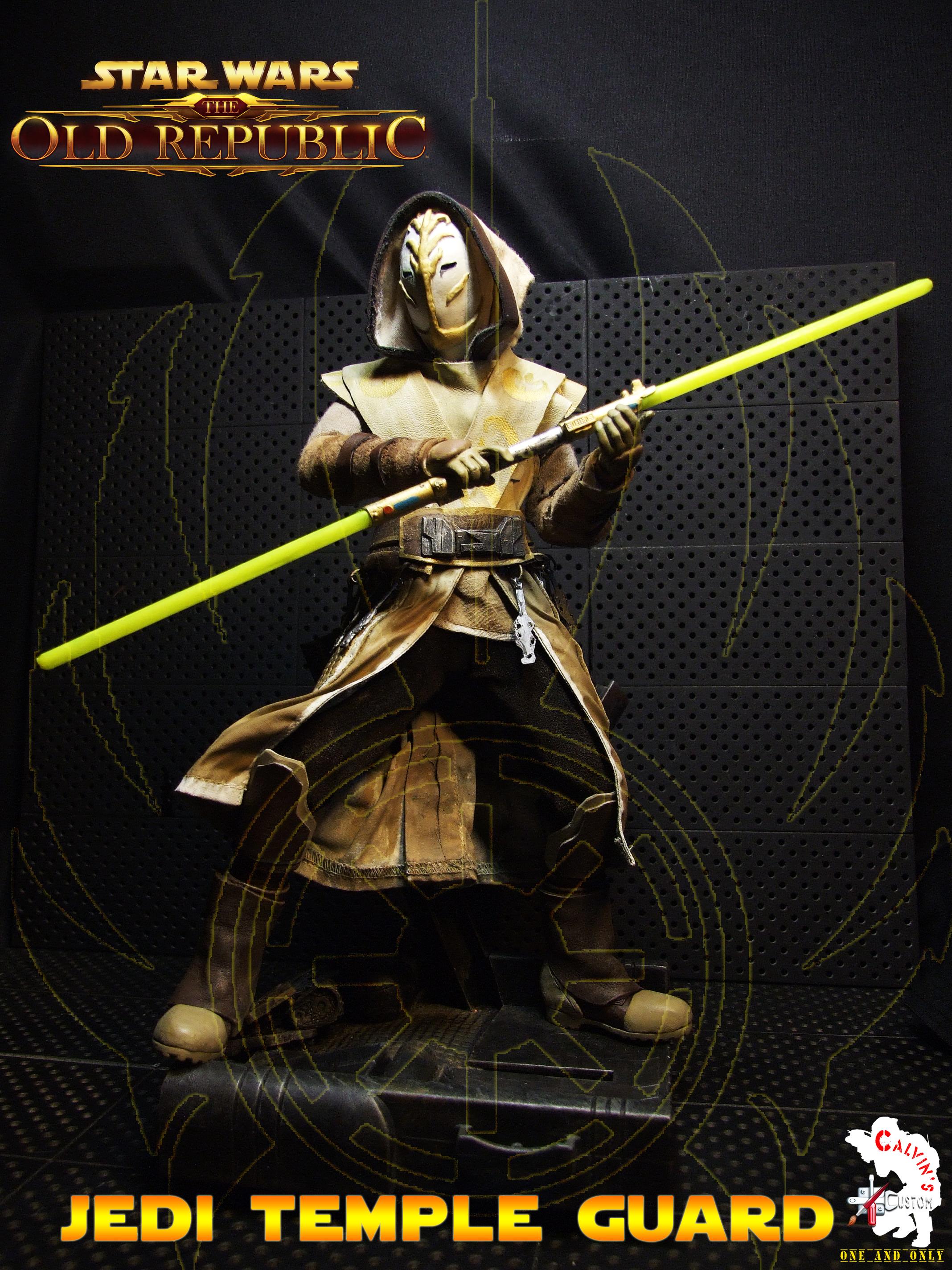 Calvin S Custom One Sixth Starwars The Old Republic Jedi Temple Guard Figure Star Wars Photo 35632921 Fanpop Page 8