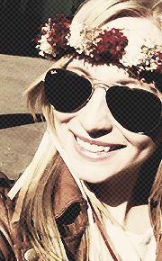 Candice Accola and her flawless golden hair.