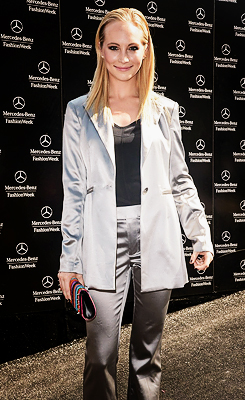 Candice Accola at Mercedes-Benz Fashion Week (11th September)