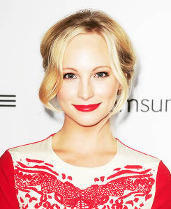 Candice Accola at the The Hollywood Reporter's Emmy Party