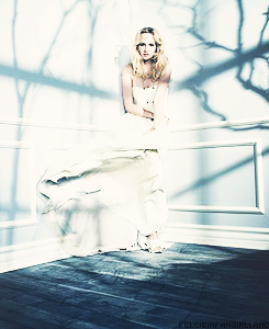 Caroline Forbes promotional shoots