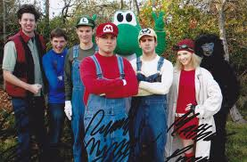 Cast of the Stupid Mario Brothers