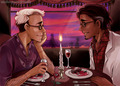 Cecil and beautiful Carlos on their date - welcome-to-night-vale photo