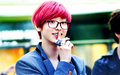 Chanyeol with pink hair - chanyeol fan art