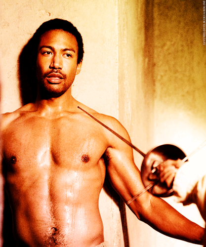 The Originals Hintergrund containing a hunk, a six pack, and skin called Charles Michael Davis as Marcel