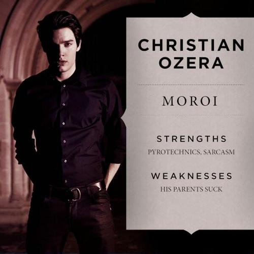 The Vampire Academy Blood Sisters wallpaper with a well dressed person called Christian Ozera still