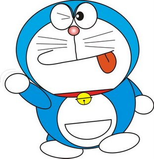 Doraemon Hintergrund containing Anime titled CindiEmon
