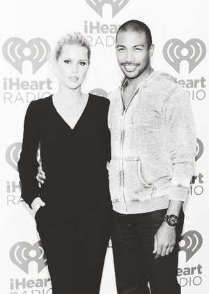 Claire Holt and Charles Michael Davis attend the iHeartRadio Musik Festival 21/09/2013
