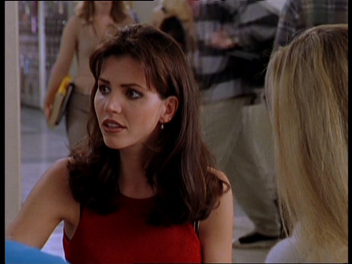 バフィー 〜恋する十字架〜 壁紙 with a portrait entitled Cordelia Chase Screencaps