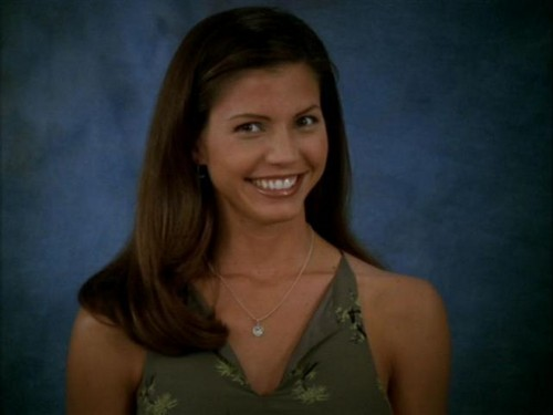 Buffy the Vampire Slayer wallpaper with a portrait called Cordelia Chase Screencaps