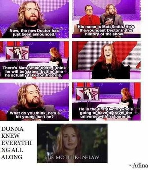 DONNA KNEW EVERYTHING ALL ALONG!