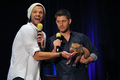 Dallascon 2013 - jared-padalecki-and-jensen-ackles photo