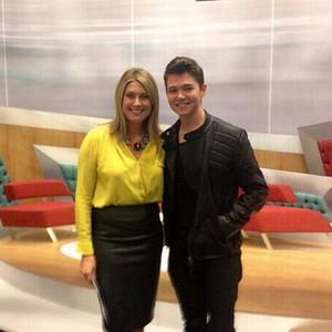 Damian & Sarah Travers from UTV Derry