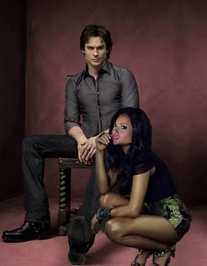 Damon and Bonnie