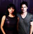 Damon and Bonnie - damon-and-bonnie fan art