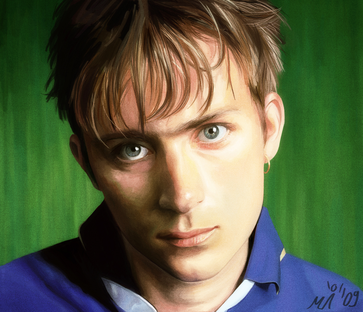 The damon albarn tattoo pictures to pin on pinterest for Damon albarn