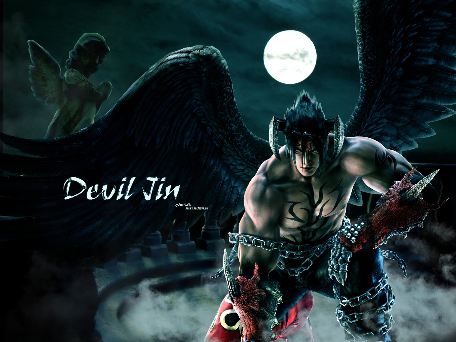 Jin Kazama Images Devil HD Wallpaper And Background Photos