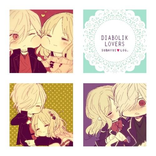 Diabolik amoureux fond d'écran possibly containing animé called Diabolik amoureux