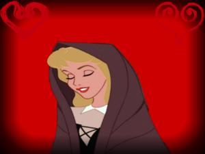 迪士尼 Princesses on red backgrounds