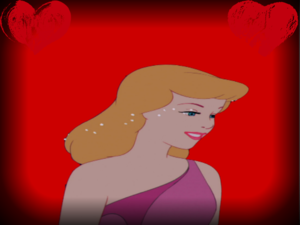 ディズニー Princesses on red backgrounds