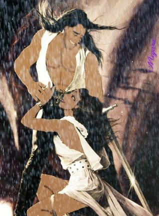 Disney crossover karatasi la kupamba ukuta entitled Disney Romance Novel