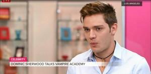 Dominic Sherwood Popsugar interview