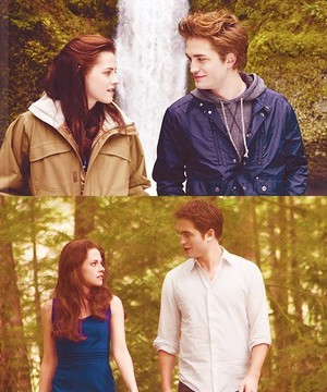 Edward and Bella ♚