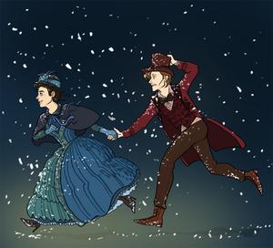 Eleven and Clara Fanart