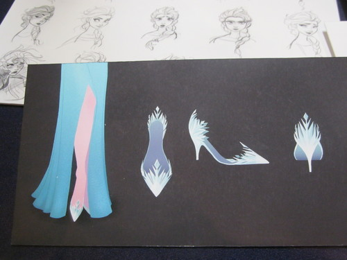 Elsa the Snow Queen wallpaper possibly with a sign entitled Elsa Concept Art
