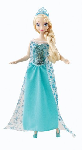 Frozen wallpaper probably with a dinner dress titled Elsa Doll