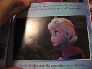 Elsa afraid