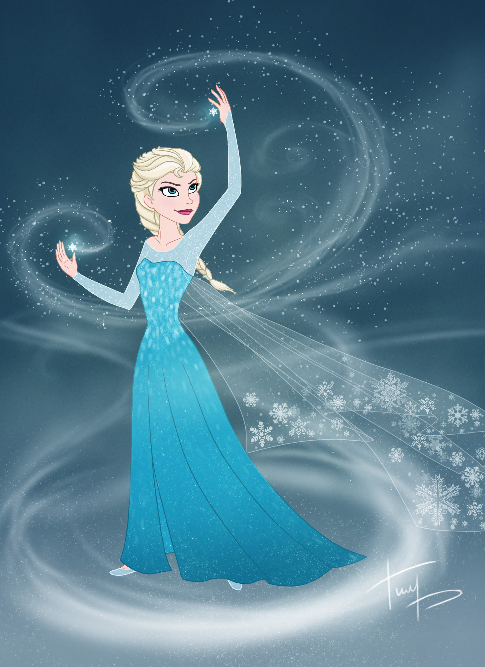 Elsa Frozen Fan Art 35661405