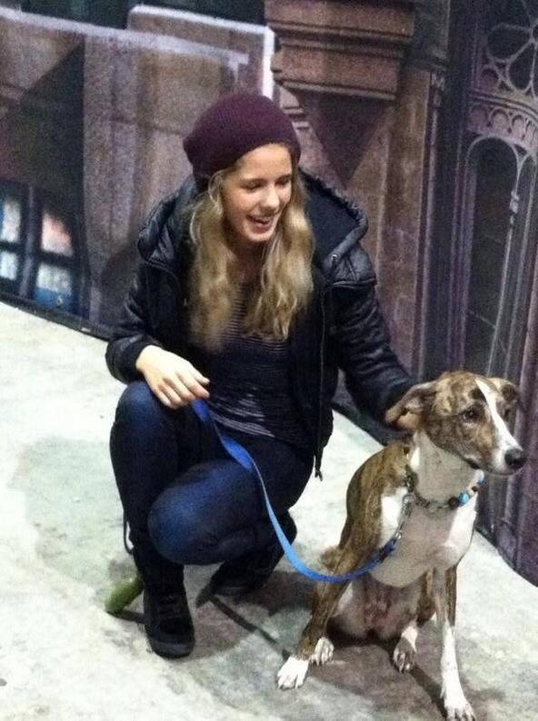 Emily an her dog