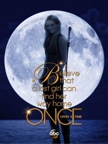 Once Upon A Time fond d'écran called Emma cygne promo poster