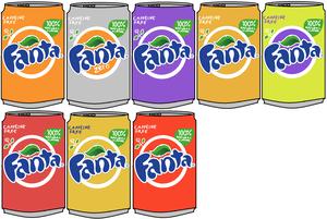 Fanta Cans