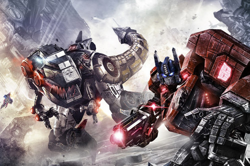 transformers wallpaper entitled First Look from Michael teluk, da?