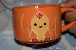 Flame Princess Teacup